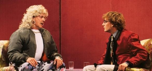 "Olli Dittrich als ""Mike Hansen"" (li.) und Wigald Boning / Fotos: RTLplus; RTLplus/Stephan Pick"