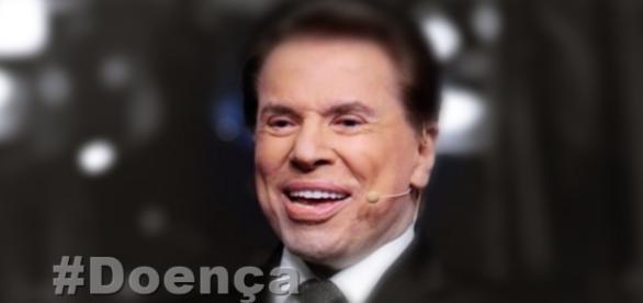 Apresentador Silvio Santos descobre doença