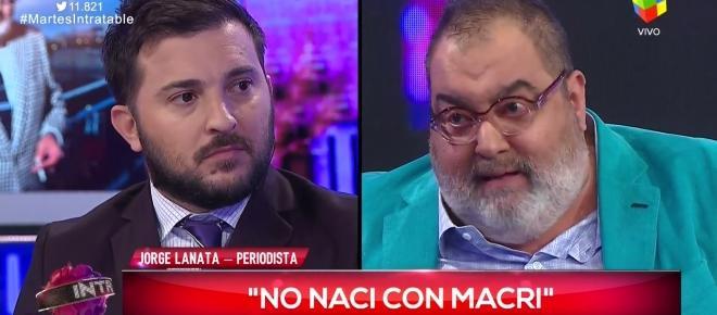 Lanata: 'Cristina no está presa por decisión de Macri'