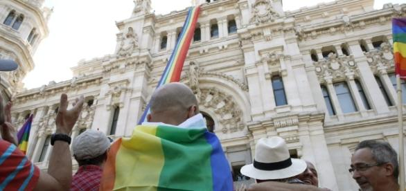 Cibeles abanderada del Orgullo Gay