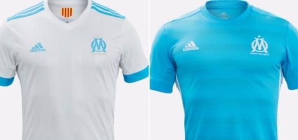 Supposés maillots de l'OM pour la saison 2017/2018