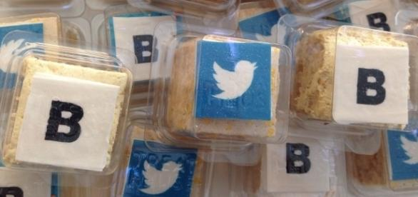 Bloomberg and Twitter served up big news at their NewFronts presentations this week. (Photo via M.Albertson)