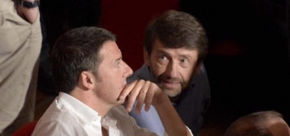 Dario Franceschini rischia di essere messo all'angolo da Matteo Renzi