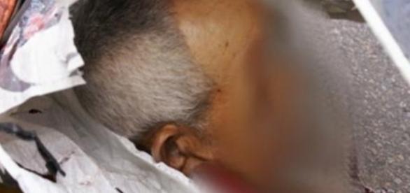 Idoso teve cabeça arrancada - Imagem/Google