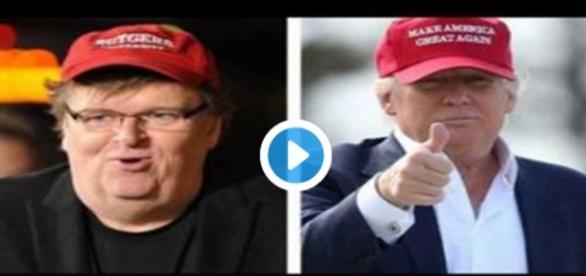 "Moore levou a experiência com o seu filme ""Michael Moore in TrumpLand"" para a Broadway"