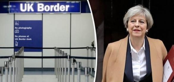 Premierul britanic Theresa May a declarat că libera circulație din UE încetează