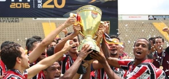 São Paulo é o atual campeão sub 20