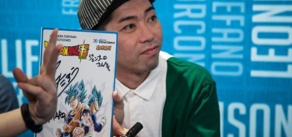 Toyotaro en la Napoli Comic Con de Italia