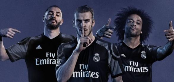 Benzema, Bale y Marcelo, en una reciente campaña de Adidas