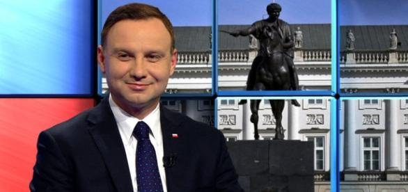 Andrzej Duda zaatakował rodzinę Kaczyńskiego (fot. tvn24.pl)