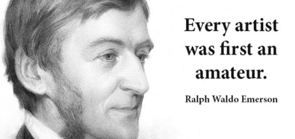 No 32 Ralph Waldo Emerson | Art Quote of the Day - wordpress.com