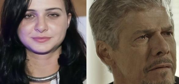 A moça nega qualquer tipo de envolvimento com o ator (Foto- Rede Globo )