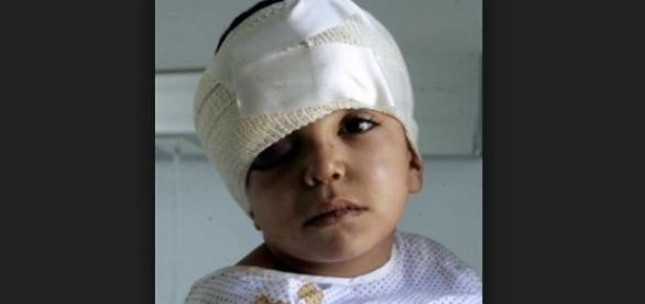 Seita religiosa macabra mutilava crianças. Imagem ilustrativa. Fonte internet.