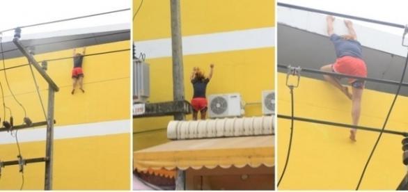 Jovem pula de cima de prédio após desentendimento amoroso