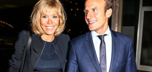 La historia de amor de Macron y Brigitte