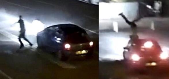 Motorista atropelou pedestre ao confundi-lo com assaltante em estacionamento