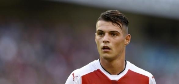 Arsenal's Granit Xhaka terrible foul stats v Liverpool - 101greatgoals.com