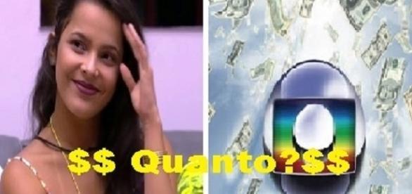 Emilly renova com a Globo por mais seis meses