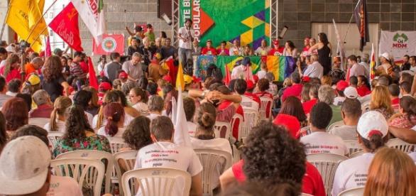 Frente Brasil Popular não concordou com decisão da Justiça de barrar acampamentos em Curitiba