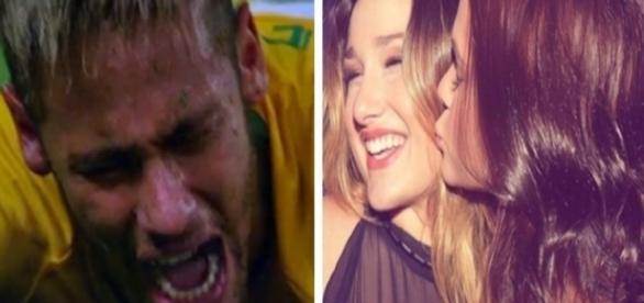 Neymar e Bruna Marquezine - Google