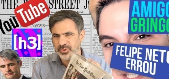 Seth desmascarou Felipe Neto (Foto: Reprodução/Youtube/Amigo Gringo)