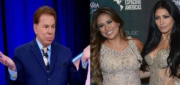 Após comentário de Silvio Santos, Simaria saiu em defesa da irmã