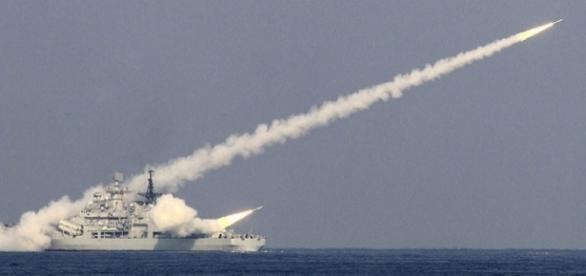 China tests new missile off the Korean peninsula (credits: Reuters)