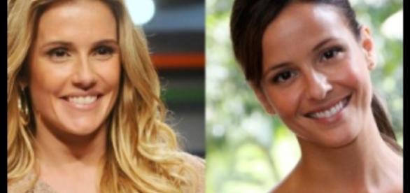Déborah Secco à esq. e Fernanda de Freitas à dir. - AgNews.com