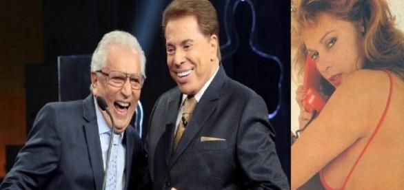 Ex-assistente de palco de Silvio Santos acusou o apresentador e Carlos Alberto de a assediarem no SBT