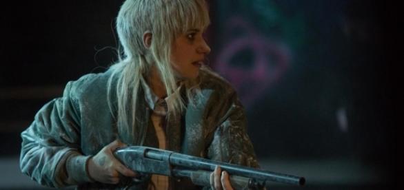 """Imogen Poots spielt die Nazifrau Amber in """"Green Room"""" / Foto: Universum"""