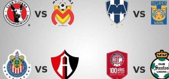 Listos los encuentros que determinarán a los semifinalistas del Clausura 2017