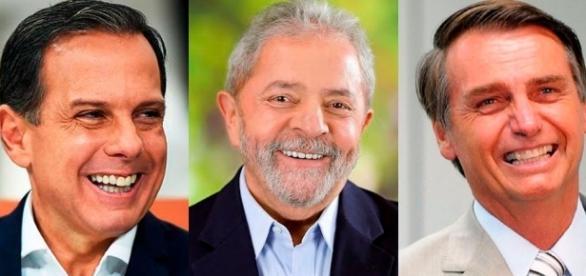 Lula ataca Doria e Bolsonaro e leva resposta acompanhada de provas