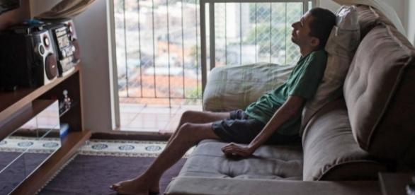 Marcio alega ter ficado paraplégico por culpa de brinquedo do Hopi Hari