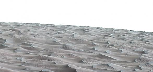NASA Rover Samples Active Linear Dune on Mars | NASA - nasa.gov
