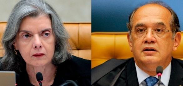 Presidente do STF, ministra Cármen Lúcia, terá que decidir sobre situação de Gilmar Mendes