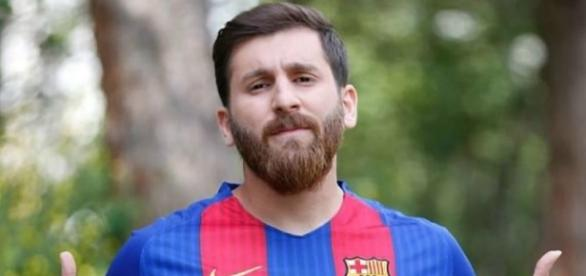 Reza Parastesh é sósia de Messi