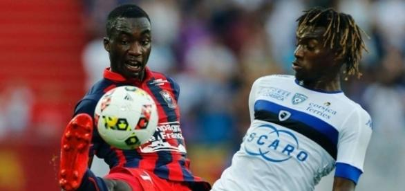 Allan Saint-Maximin Yann Karamoh Caen Bastia Ligue 1 27082016 ... - goal.com