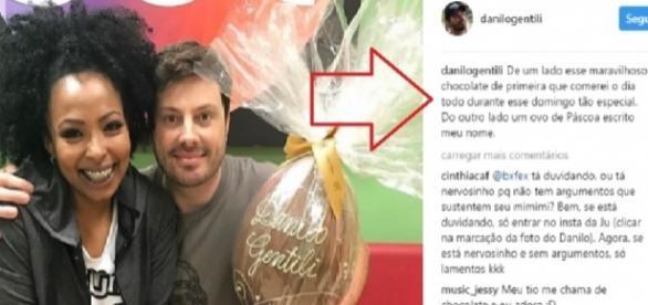 Danilo Gentili foi criticado por chamar funcionária de 'chocolate'