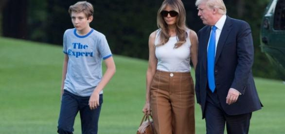 Melania, Barron Trump move into White House - Business Insider - businessinsider.com