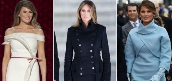 Melania Trump's fashion choices get reign as First Lady off to ... - mirror.co.uk