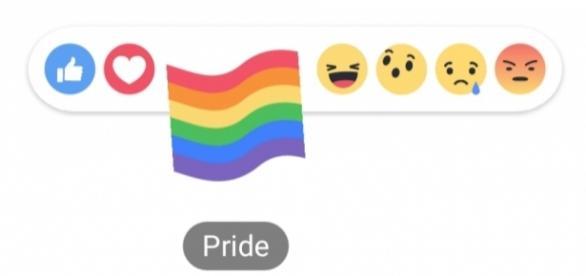 Ícone ''orgulho'' de reação no Facebook