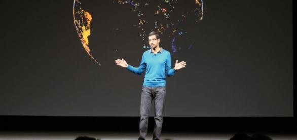 Google CEO introducing Android O features and roadmap - flickr.com