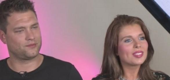 Kevin und Sharon sprachen in einem Berliner Magazin über ihre Schwangerschaft; Foto: Promiflash/Celebrity News AG (Screen)