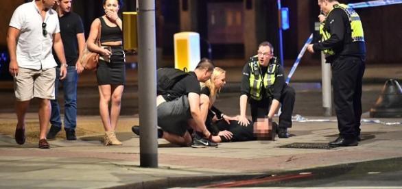 London Bridge attack photo via BN library