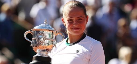 Ostapenko dio la campanada del año en el tenis en este 2017. SI.com.