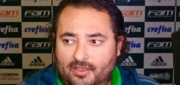Executivo de futebol do Palmeiras tentou trazer reforço, mas não teve sucesso