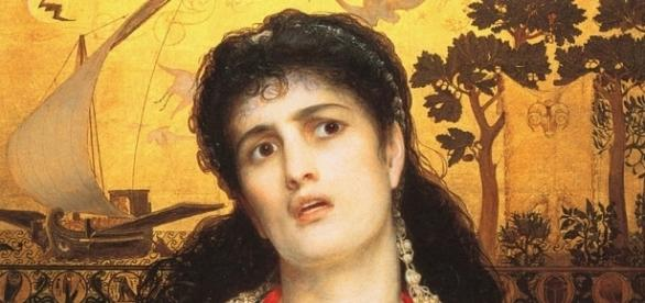Medea (1868) de Frederick Sandys.