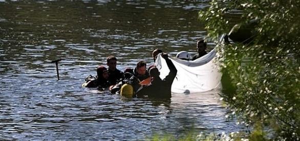 Operações de busca e salvamento decorreram durante toda a tarde
