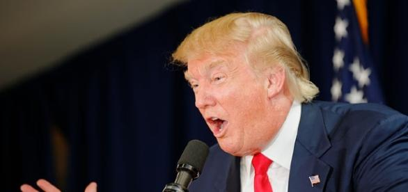 Donald Trump Laconia Rally / Image credit Michael Vadon via wikimedia