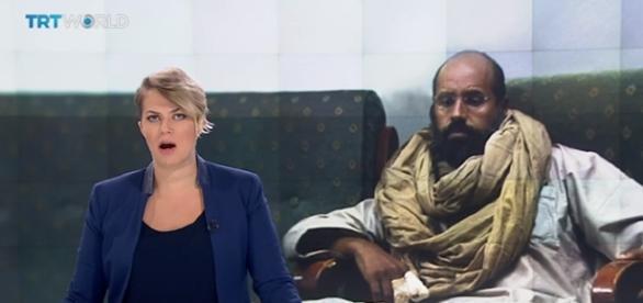 Gaddafi's Son Released / screencap from TRT World via YouTube